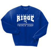 Triple Jump - 562 Jerzees Adult 8oz. NuBlend® 50/50 Fleece Crew