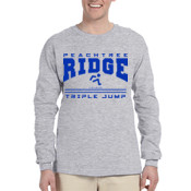 Triple Jump -  4930 Fruit of the Loom Adult 5oz. 100% Heavy Cotton HD™ Long-Sleeve T-Shirt